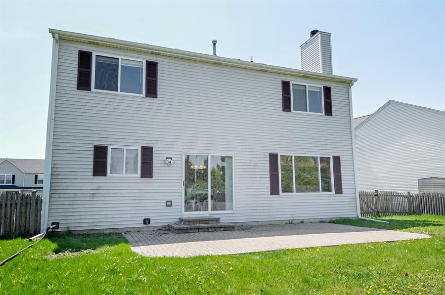 Real Estate Photography - 6147 Southridge Dr, Plainfield, IL, 60586 - Rear View