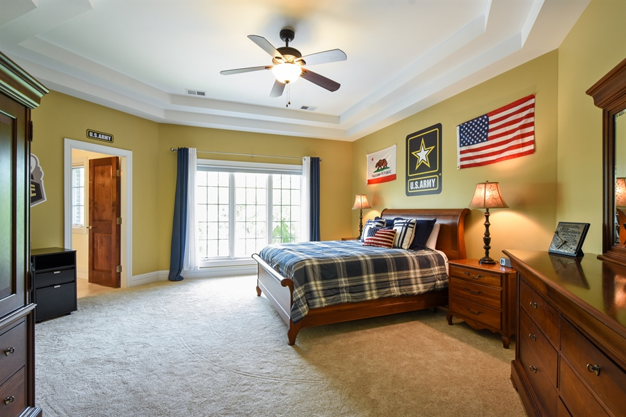 Real Estate Photography - 38 Wescott Dr, South Barrington, IL, 60010 - 4th Bedroom