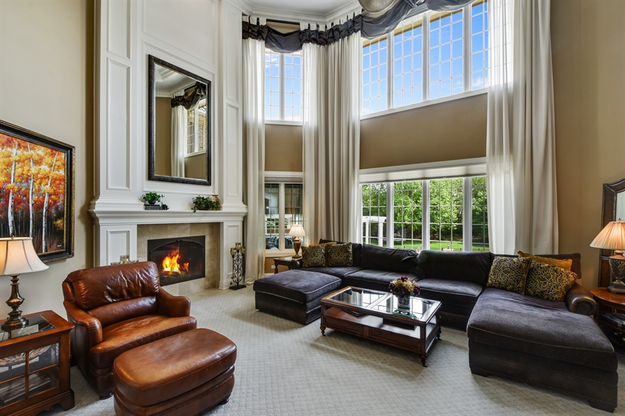 Real Estate Photography - 38 Wescott Dr, South Barrington, IL, 60010 - Family Room