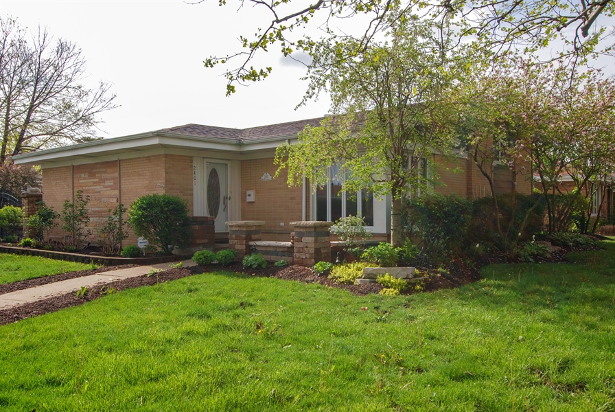 Real Estate Photography - 2401 Martindale, Westchester, IL, 60154 - Front View