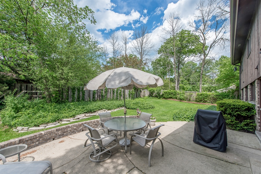 Real Estate Photography - 539 Dundee Rd, Glencoe, IL, 60022 - Back Yard