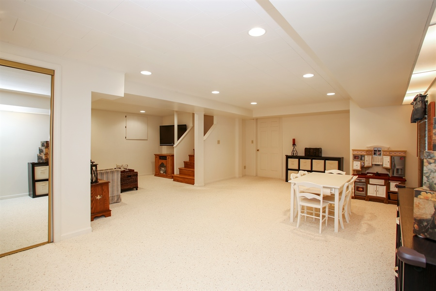 Real Estate Photography - 2808 Mill Creek Ln., Rolling Meadows, IL, 60008 - Basement