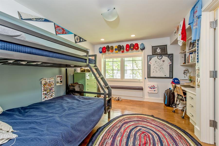 Real Estate Photography - 136 Beach, Glencoe, IL, 60022 - 4th Bedroom