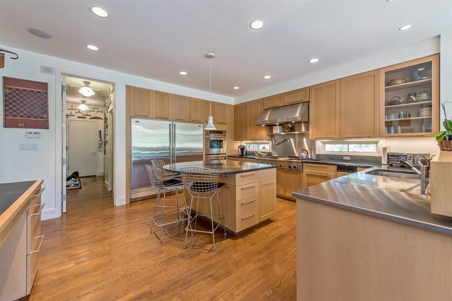 Real Estate Photography - 136 Beach, Glencoe, IL, 60022 - Kitchen