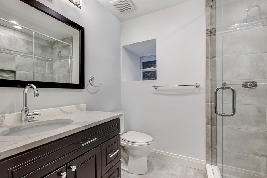 Real Estate Photography - 2662 N Marshfield Ave, Chicago, IL, 60614 - 4th Bathroom