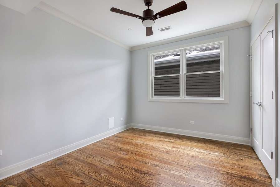 Real Estate Photography - 2662 N Marshfield Ave, Chicago, IL, 60614 - 2nd Bedroom
