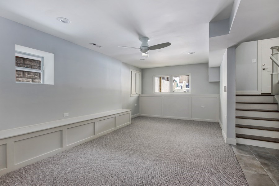 Real Estate Photography - 2662 N Marshfield Ave, Chicago, IL, 60614 - Recreational Room