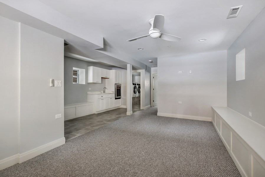 Real Estate Photography - 2662 N Marshfield Ave, Chicago, IL, 60614 - Lower Level