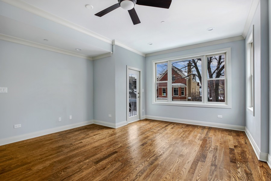 Real Estate Photography - 2662 N Marshfield Ave, Chicago, IL, 60614 - Master Bedroom