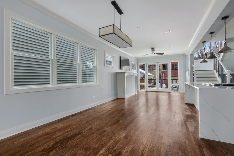 Real Estate Photography - 2662 N Marshfield Ave, Chicago, IL, 60614 - Dining Room