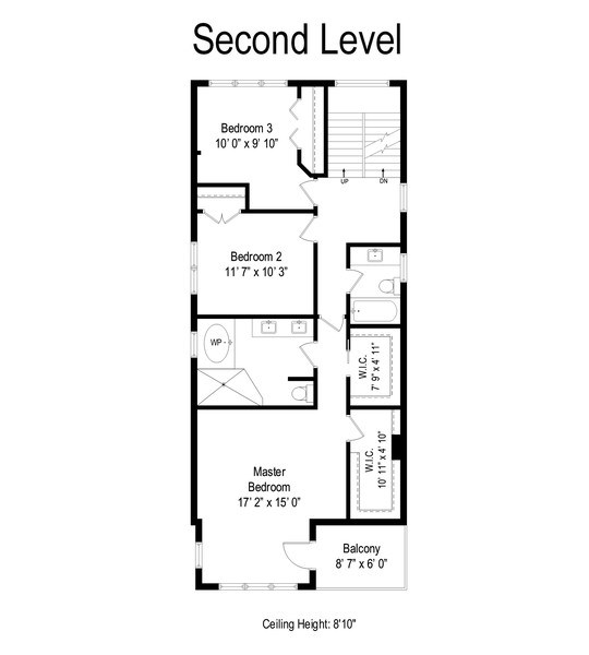 Real Estate Photography - 2662 N Marshfield Ave, Chicago, IL, 60614 - Floor Plan