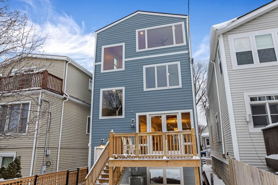 Real Estate Photography - 2662 N Marshfield Ave, Chicago, IL, 60614 - Rear View