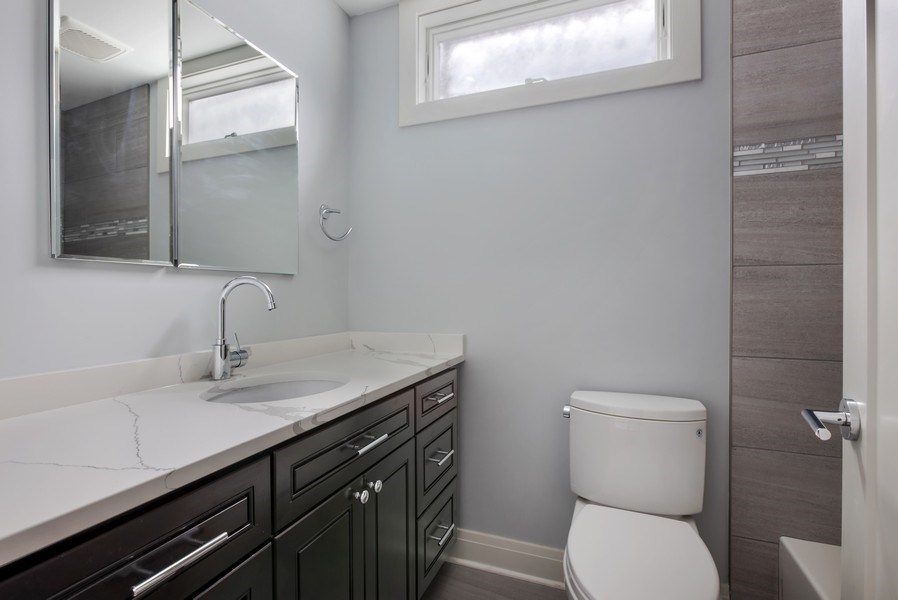 Real Estate Photography - 2662 N Marshfield Ave, Chicago, IL, 60614 - 2nd Bathroom