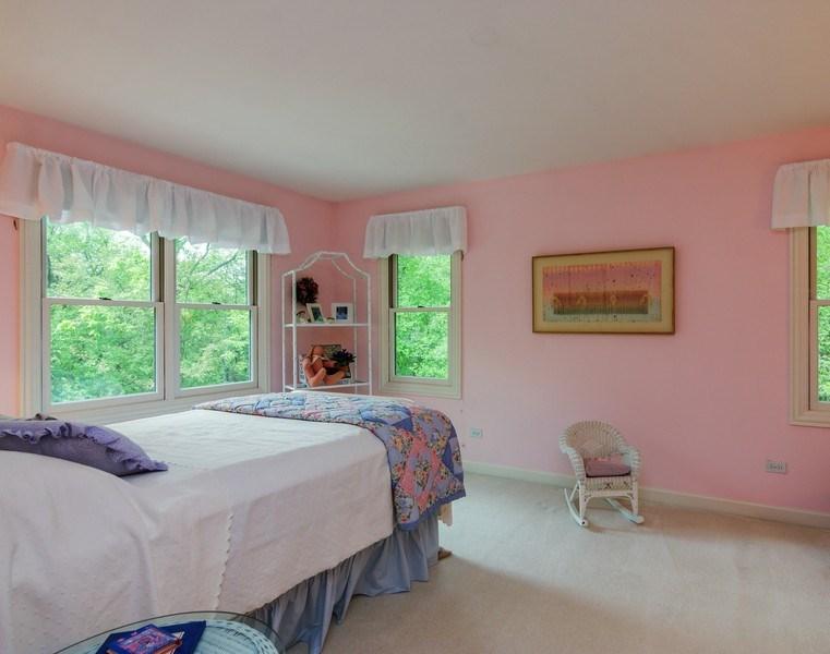 Real Estate Photography - 1 Burning Oak Trail, Barrington Hills, IL, 60010 - 4th Bedroom