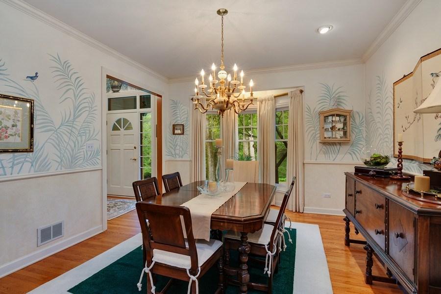 Real Estate Photography - 1 Burning Oak Trail, Barrington Hills, IL, 60010 - Dining Room