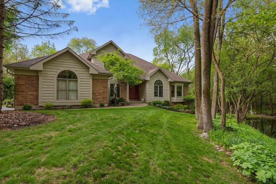 Real Estate Photography - 1 Burning Oak Trail, Barrington Hills, IL, 60010 -