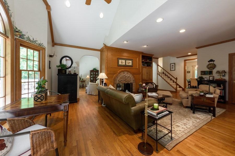 Real Estate Photography - 1 Burning Oak Trail, Barrington Hills, IL, 60010 - Hearth Room