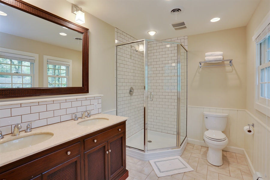 Real Estate Photography - 3836 Michiana Drive, Michiana, MI, 49117 - Master Bathroom