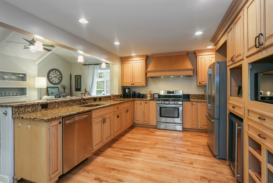 Real Estate Photography - 3836 Michiana Drive, Michiana, MI, 49117 - Kitchen