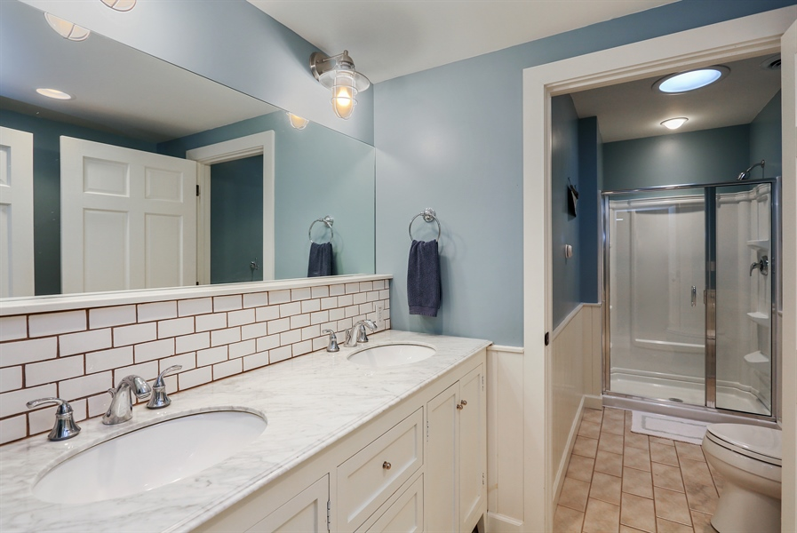 Real Estate Photography - 3836 Michiana Drive, Michiana, MI, 49117 - Bathroom