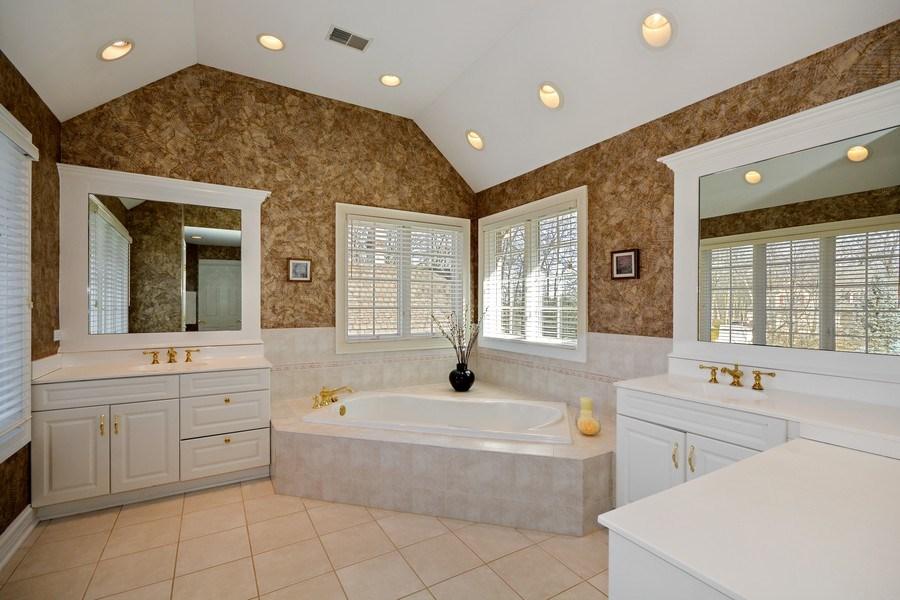 Real Estate Photography - 2702 Royal Fox Dr, Saint Charles, IL, 60174 - Master Bathroom