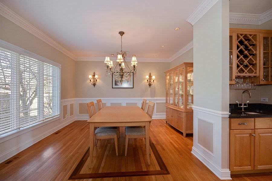 Real Estate Photography - 2702 Royal Fox Dr, Saint Charles, IL, 60174 - Dining Room