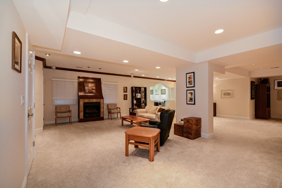 Real Estate Photography - 2702 Royal Fox Dr, Saint Charles, IL, 60174 - Basement