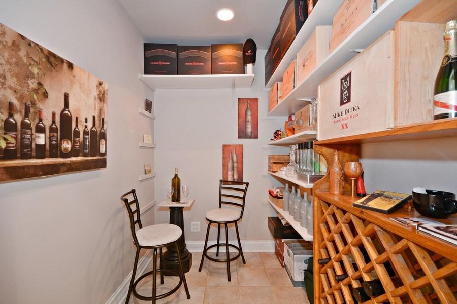 Real Estate Photography - 2702 Royal Fox Dr, Saint Charles, IL, 60174 - Wine Cellar