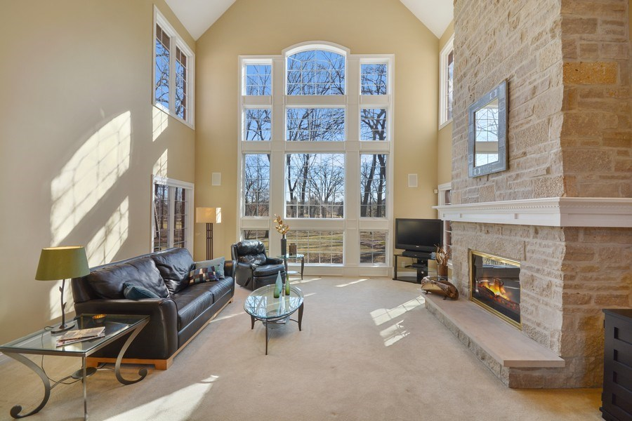 Real Estate Photography - 2702 Royal Fox Dr, Saint Charles, IL, 60174 - Family Room