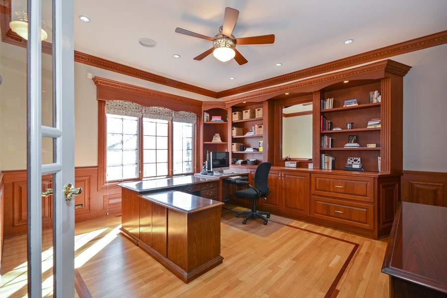 Real Estate Photography - 2702 Royal Fox Dr, Saint Charles, IL, 60174 - Den