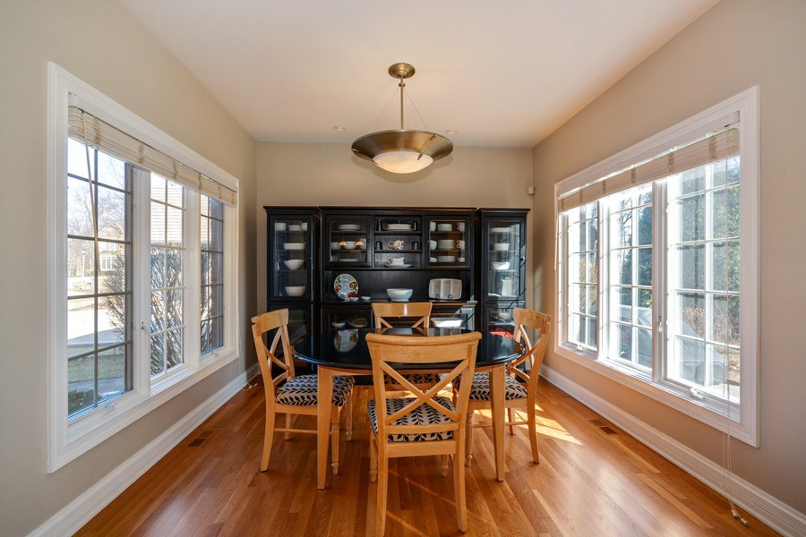 Real Estate Photography - 2702 Royal Fox Dr, Saint Charles, IL, 60174 - Breakfast Nook