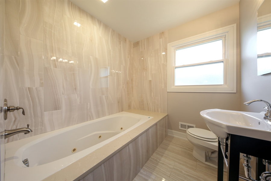 Real Estate Photography - 292 E Fullerton, Elmhurst, IL, 60126 - Bathroom