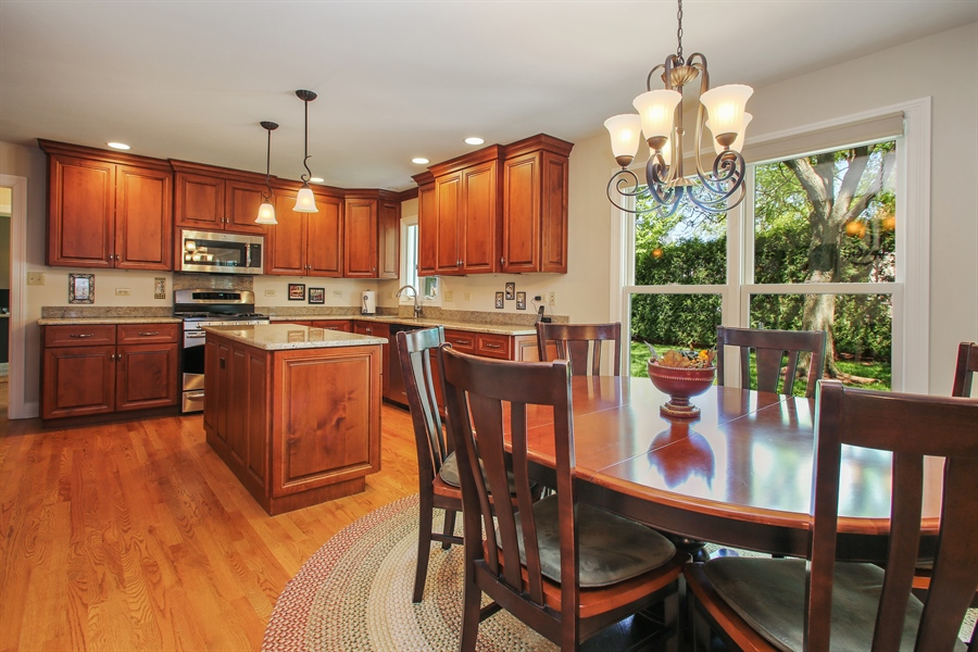 Real Estate Photography - 5408 Groveside Ln., Rolling Meadows, IL, 60008 - Kitchen / Breakfast Room