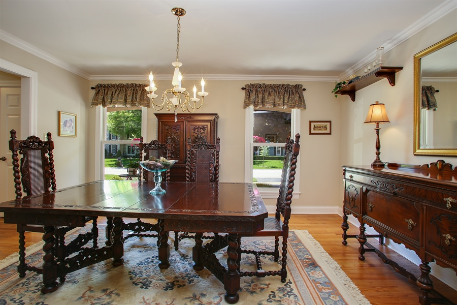 Real Estate Photography - 5408 Groveside Ln., Rolling Meadows, IL, 60008 - Dining Room