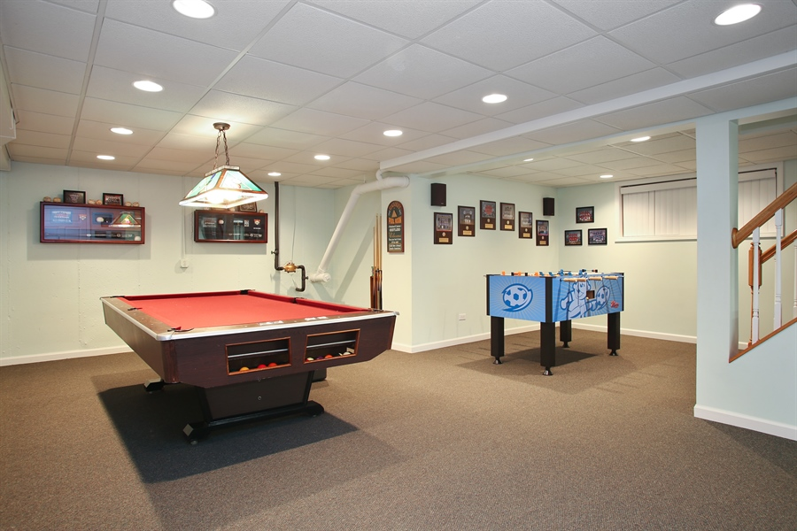 Real Estate Photography - 5408 Groveside Ln., Rolling Meadows, IL, 60008 - Basement