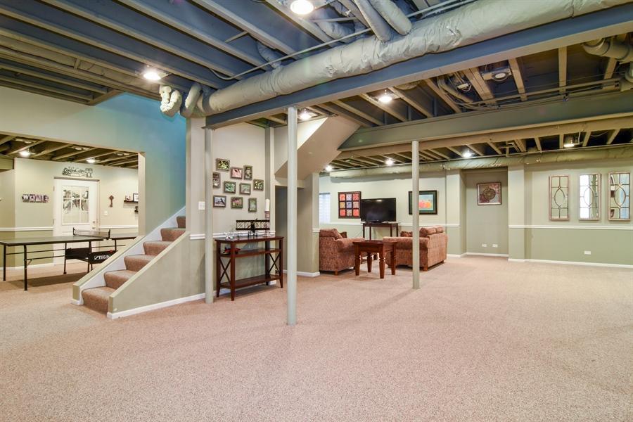 Real Estate Photography - 848 W Kenilworth, Palatine, IL, 60067 - Basement