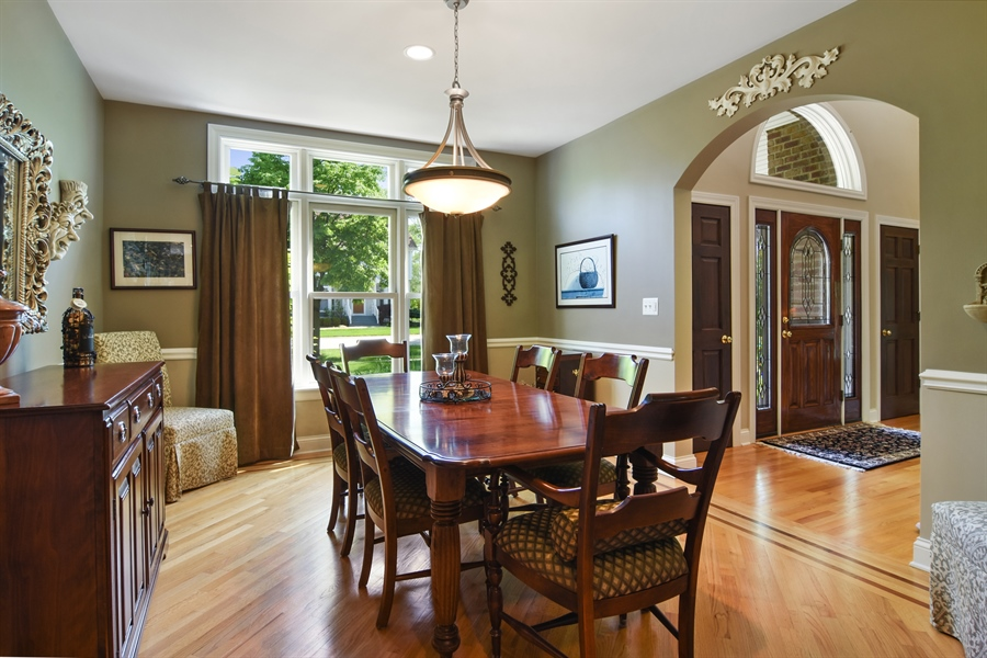 Real Estate Photography - 848 W Kenilworth, Palatine, IL, 60067 - Dining Room