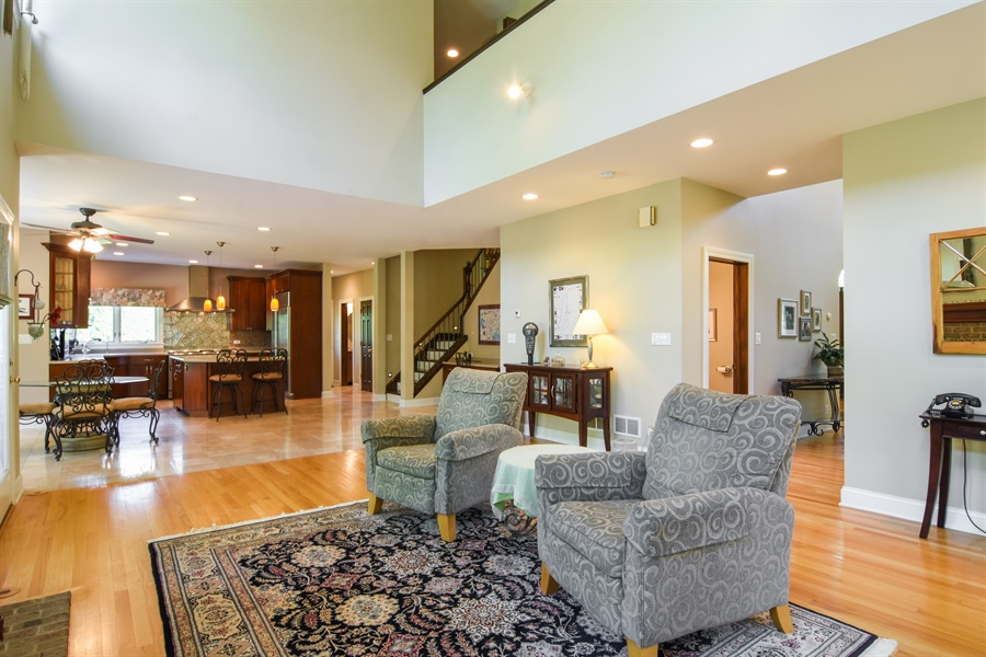 Real Estate Photography - 848 W Kenilworth, Palatine, IL, 60067 - Family Room
