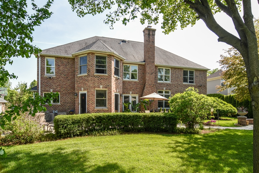 Real Estate Photography - 848 W Kenilworth, Palatine, IL, 60067 - Rear View
