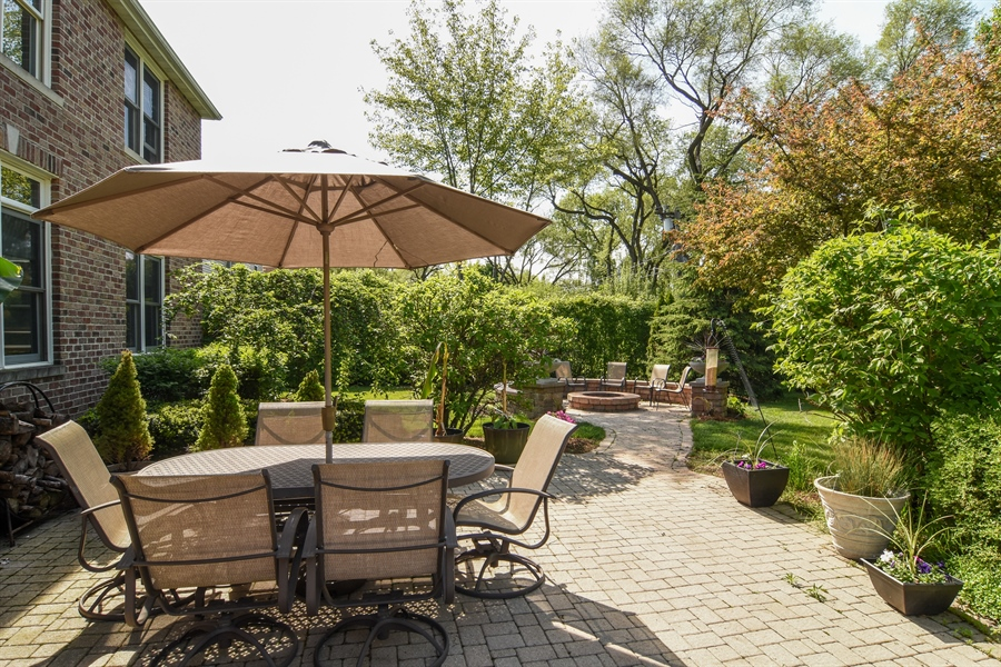 Real Estate Photography - 848 W Kenilworth, Palatine, IL, 60067 - Patio