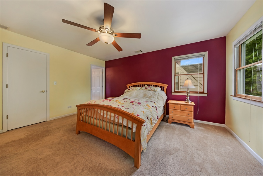 Real Estate Photography - 129 Bassford Avenue, La Grange, IL, 60525 - Master Bedroom