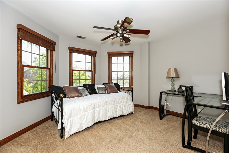 Real Estate Photography - 816 timber ridge court, westmont, IL, 60559 - 2nd Bedroom