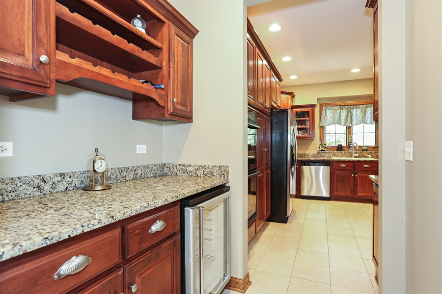 Real Estate Photography - 816 timber ridge court, westmont, IL, 60559 - Butler's pantry