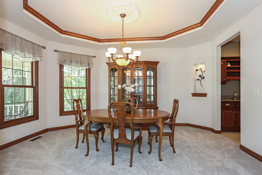 Real Estate Photography - 816 timber ridge court, westmont, IL, 60559 - Dining Room