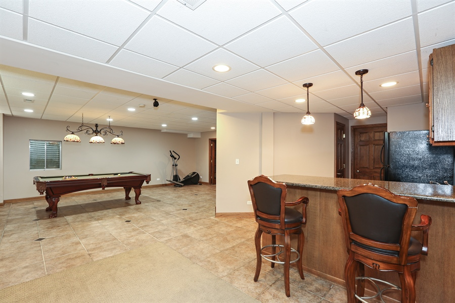 Real Estate Photography - 816 timber ridge court, westmont, IL, 60559 - Basement