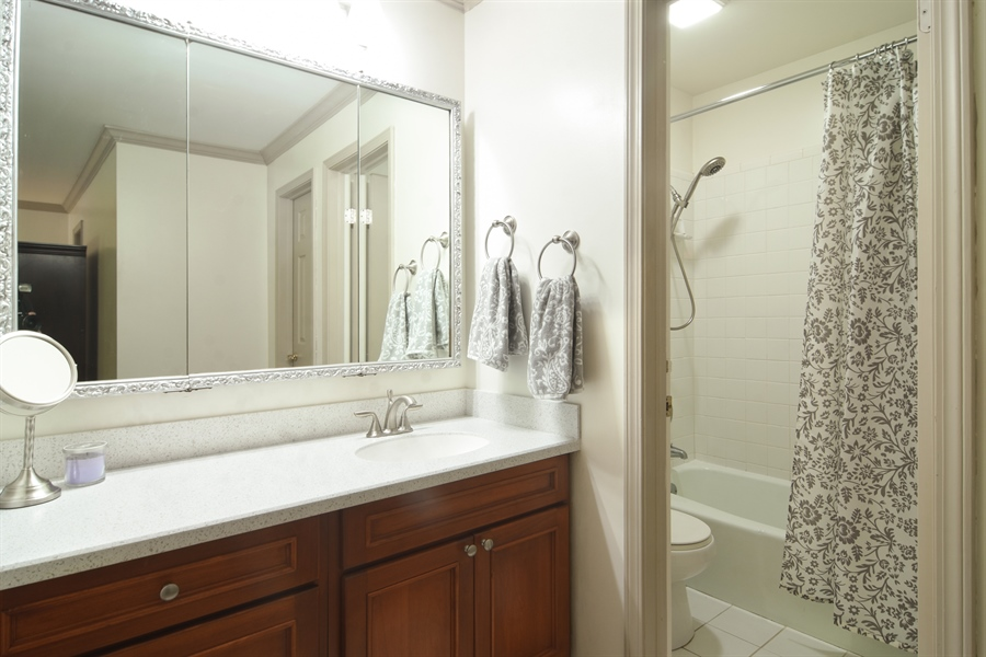 Real Estate Photography - 2 Pine Valley Rd, Rolling Meadows, IL, 60008 - Master Bathroom