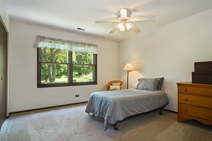 Real Estate Photography - 2 Pine Valley Rd, Rolling Meadows, IL, 60008 - 3rd Bedroom