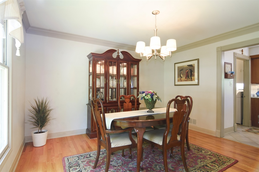 Real Estate Photography - 2 Pine Valley Rd, Rolling Meadows, IL, 60008 - Dining Room