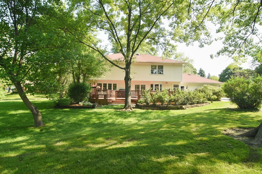 Real Estate Photography - 2 Pine Valley Rd, Rolling Meadows, IL, 60008 - Back Yard
