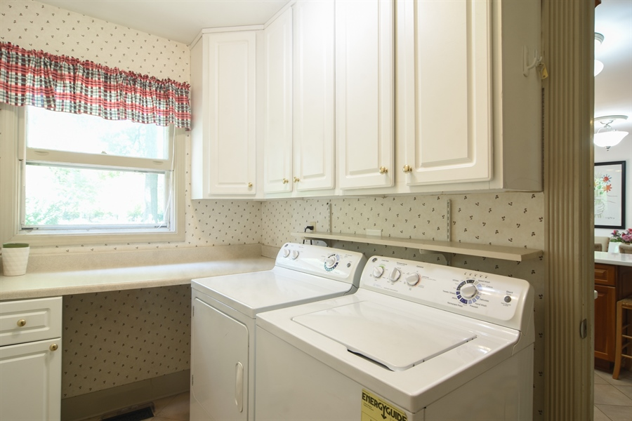 Real Estate Photography - 2 Pine Valley Rd, Rolling Meadows, IL, 60008 - Laundry Room